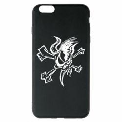 Чехол для iPhone 6 Plus/6S Plus Metallica Scary Guy