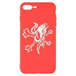 Чехол для iPhone 7 Plus Metallica Scary Guy