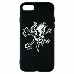 Чехол для iPhone 8 Metallica Scary Guy