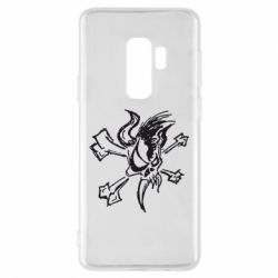 Чехол для Samsung S9+ Metallica Scary Guy