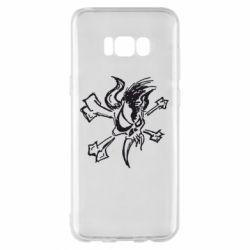 Чехол для Samsung S8+ Metallica Scary Guy