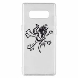Чехол для Samsung Note 8 Metallica Scary Guy