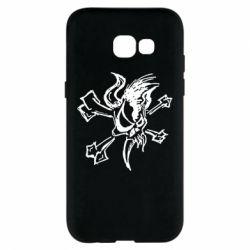 Чехол для Samsung A5 2017 Metallica Scary Guy