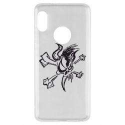 Чехол для Xiaomi Redmi Note 5 Metallica Scary Guy - FatLine