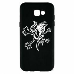 Чехол для Samsung A7 2017 Metallica Scary Guy