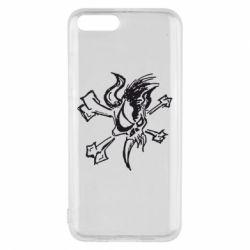 Чехол для Xiaomi Mi6 Metallica Scary Guy - FatLine