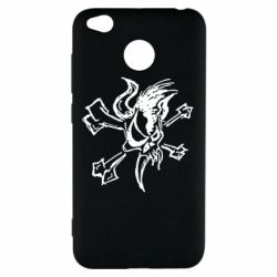 Чехол для Xiaomi Redmi 4x Metallica Scary Guy