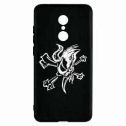 Чехол для Xiaomi Redmi 5 Metallica Scary Guy - FatLine
