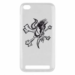 Чехол для Xiaomi Redmi 5a Metallica Scary Guy - FatLine
