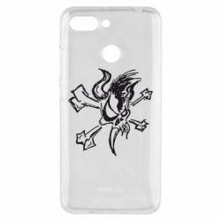 Чехол для Xiaomi Redmi 6 Metallica Scary Guy - FatLine