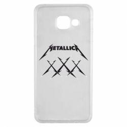 Чохол для Samsung A3 2016 Metallica XXX