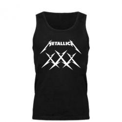 Мужская майка Metallica XXX - FatLine
