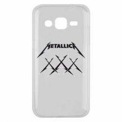 Чохол для Samsung J2 2015 Metallica XXX