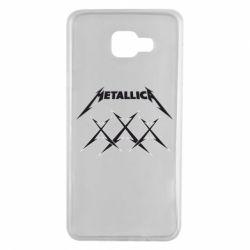 Чохол для Samsung A7 2016 Metallica XXX