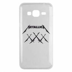 Чохол для Samsung J3 2016 Metallica XXX