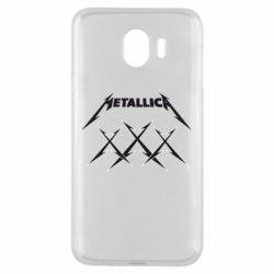 Чохол для Samsung J4 Metallica XXX