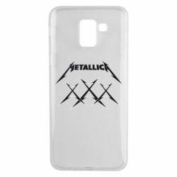 Чохол для Samsung J6 Metallica XXX