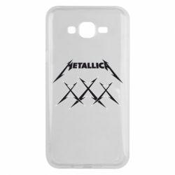 Чохол для Samsung J7 2015 Metallica XXX