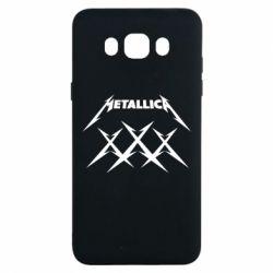 Чохол для Samsung J7 2016 Metallica XXX