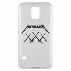 Чохол для Samsung S5 Metallica XXX