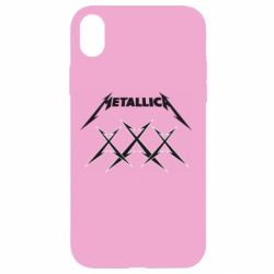 Чохол для iPhone XR Metallica XXX