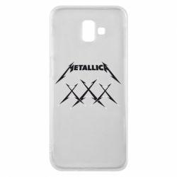 Чохол для Samsung J6 Plus 2018 Metallica XXX
