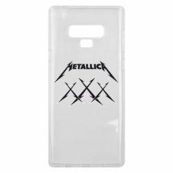 Чохол для Samsung Note 9 Metallica XXX