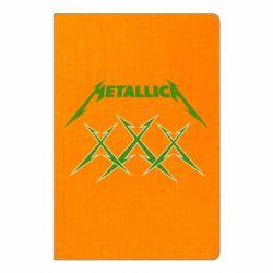 Блокнот А5 Metallica XXX