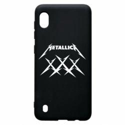 Чохол для Samsung A10 Metallica XXX