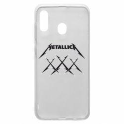 Чохол для Samsung A20 Metallica XXX