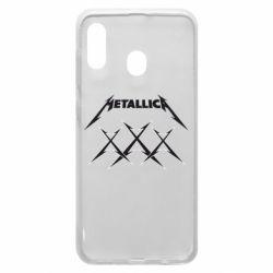 Чохол для Samsung A30 Metallica XXX