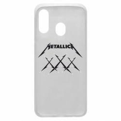Чохол для Samsung A40 Metallica XXX