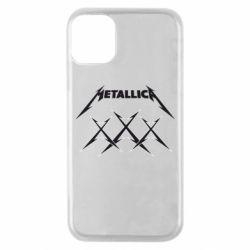 Чохол для iPhone 11 Pro Metallica XXX