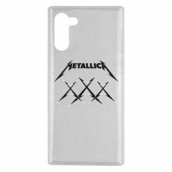 Чохол для Samsung Note 10 Metallica XXX