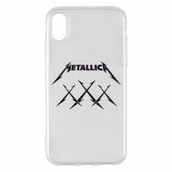 Чохол для iPhone X/Xs Metallica XXX
