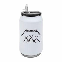 Термобанка 350ml Metallica XXX