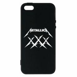 Чохол для iphone 5/5S/SE Metallica XXX