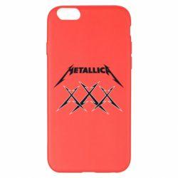 Чохол для iPhone 6 Plus/6S Plus Metallica XXX