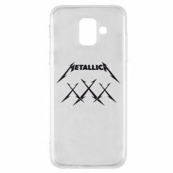 Чохол для Samsung A6 2018 Metallica XXX