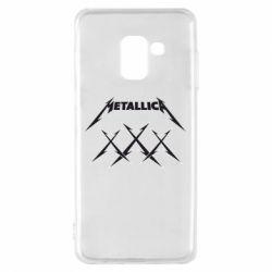 Чохол для Samsung A8 2018 Metallica XXX