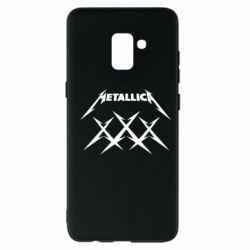 Чохол для Samsung A8+ 2018 Metallica XXX