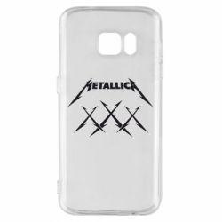 Чохол для Samsung S7 Metallica XXX