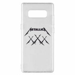 Чохол для Samsung Note 8 Metallica XXX