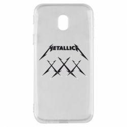 Чохол для Samsung J3 2017 Metallica XXX