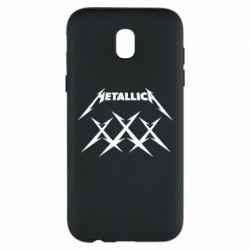 Чохол для Samsung J5 2017 Metallica XXX