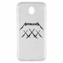 Чохол для Samsung J7 2017 Metallica XXX