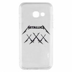 Чохол для Samsung A3 2017 Metallica XXX