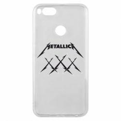 Чохол для Xiaomi Mi A1 Metallica XXX