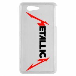 Чехол для Sony Xperia Z3 mini Металлика - FatLine