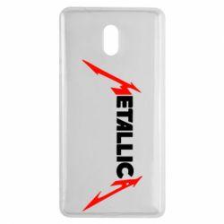 Чехол для Nokia 3 Металлика - FatLine